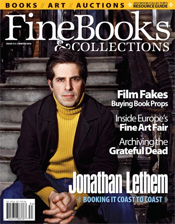 Subscribe to Fine Books & Collections Magazine at a Discounted Price!